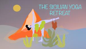 Sicilian Yoga Retreat banner